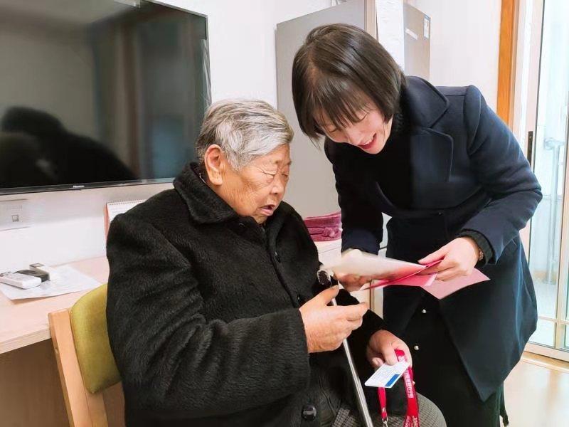 徐州市普惠养老床位迎来首位入住者。